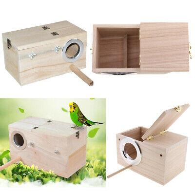 Какой домик для волнистых попугаев