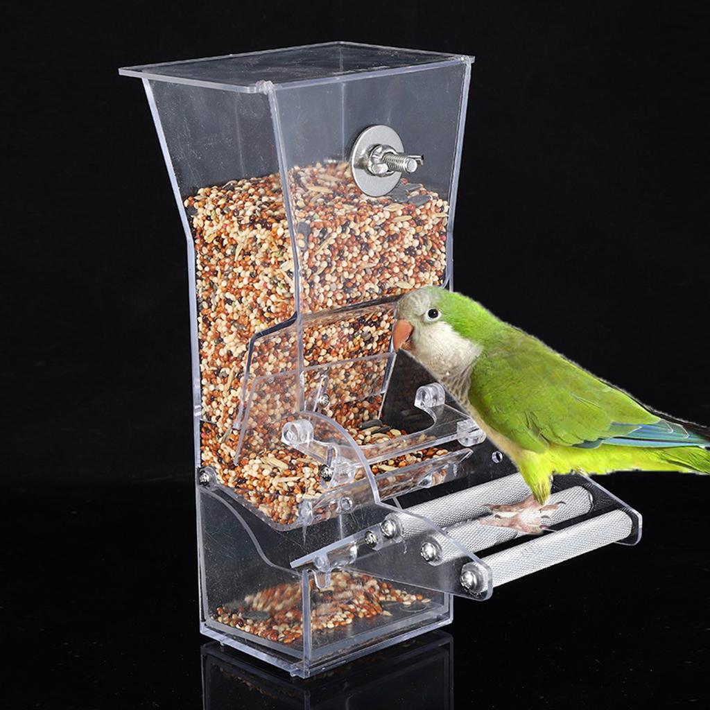 Закрытая кормушка для попугая